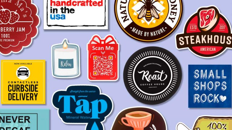 How to Get the Most from Stickers and Labels